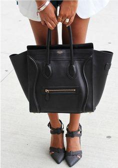 Céline Medium Luggage Phantom