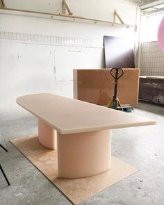 Designer Sabine Marcelis - Soap dining table and custom candycube bar. Table Furniture, Home Furniture, Furniture Design, Vintage Furniture, Furniture Inspiration, Interior Design Inspiration, Interior Architecture, Interior And Exterior, Table Haute