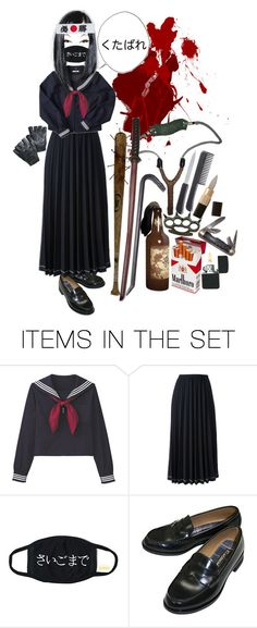 """Sukeban"" by s-a-s-sytoonist ❤ liked on Polyvore featuring art"