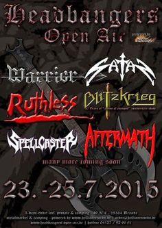 New-Metal-Media der Blog: Update zum Headbangers Open Air 2015 #news #metal #festival #wheelchair #germany