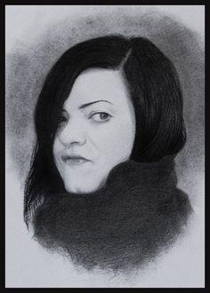 Portrait drawing by Jeronimo Gomez