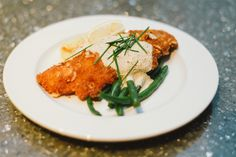 Almond crusted walleye. CRAVE Catering, Minneapolis, MN. Jeff Loves Jessica Photography.