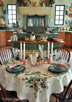 The Little Round Table: Cornucopia For A Summer Day