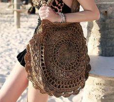2018 Handmade Bohemian Summer Circle Beach Bag - Yes Please Shop