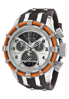 Image for Men's Bolt Reserve Chrono Black Polyurethane Carbon Fiber Dial from World of Watches