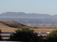 Salinas Valley low cloud stream