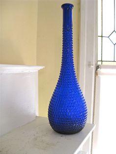 Cobalt blue glass!