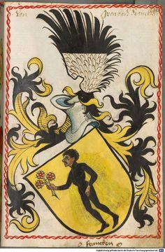 Scheibler'sches Wappenbuch Süddeutschland, um 1450 - 17. Jh. Cod.icon. 312 c Folio 145