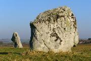 Longstone Cove Standing stones near Avebury