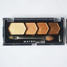 Maybelline New York Diamond Glow Eye shadow in Copper Brown Review: