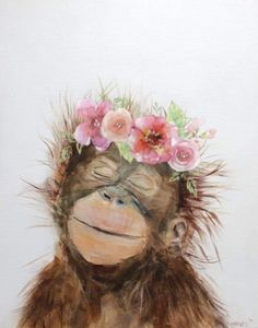 tiere Casual Marriage ceremony Clothes A latest survey exhibits that extra girls favor casual weddin Cute Canvas Paintings, Animal Paintings, Canvas Art, Canvas Prints, Art Prints, Art Watercolor, Watercolor Animals, Baby Animal Drawings, Cute Drawings