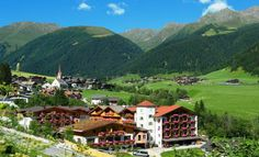 The four-star Wellness Hotel & Natural Spa Resort Hotel Quelle in Gsies Valley in South Tyrol