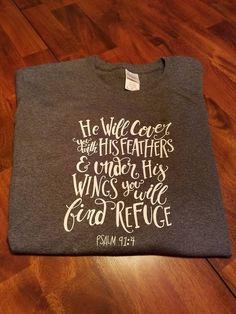 Psalm 91/ Bible Verse Tshirt/