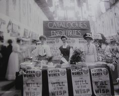 """Suffragists...""""the vote for women"""" by Christina Bloom"""