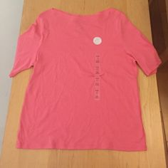 Charter Club pima cotton tee shirt Boat neck, XL petite, new with tags, #31 Charter Club Tops Tees - Short Sleeve