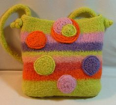 another neat felted purse