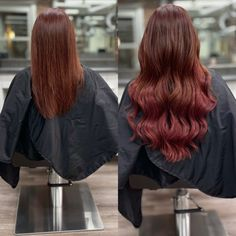 Red Hair Extensions, Red Tape, Cut And Color, Budget, Long Hair Styles, Beauty, Fashion, Moda, Fashion Styles