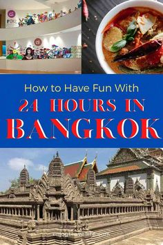 If you only have 24 hours in Bangkok Thailand, make sure these four attractions and experiences top your itinerary. [1-Day Bangkok Itinerary] #enjoytravellife #bangkok #1daybangkok #thailand
