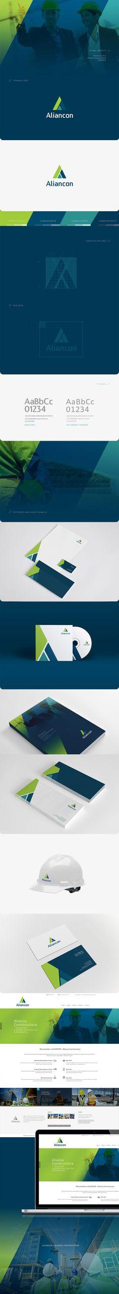 #aliancon #design #identity #logo #branding #stationery #oven #claudiarueda #diegocaceres  Branding project - Aliancon by Oven