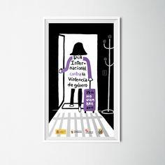 Mención especial en el concurso de carteles para el Día Internacional contra la violencia de género de 2014. Por la Diputación de Palencia