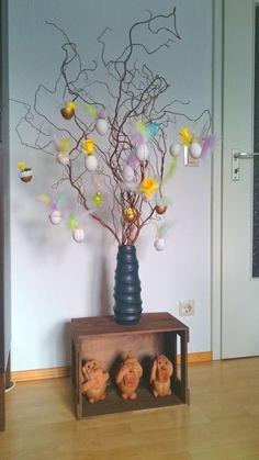 Ostern kann kommen - mit unseren zahlreichen Produkten für diese Jahreszeit und dieser wunderbaren Blog-Idee von Frau Günther unter http://www.frantasiaaa.de/schoene-ideen-zum-osterfest-diy-osterdeko-mit-eiern-selber-machen/