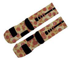 Pizza-Custom Nike Elite Socken von EtsyCustomSocks auf Etsy