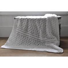 Crochet White Shell Lace Baby Blanket Crochet pattern by Hannah Cross Crochet Afghans, Crochet Blanket Patterns, Baby Blanket Crochet, Knitting Patterns, Baby Shawl, Simple Designs, New Baby Products, Traditional, Things To Sell