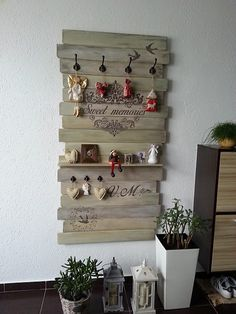 Toto mám zo SAShE.sk - Môj vešiak od pani Zuzky :) / Ingrid15 » SAShE.sk - slovenský handmade dizajn
