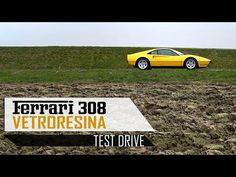 FERRARI 308 GTB VETRORESINA 1976 - Full test drive in top gear - V8 Engine sound   SCC TV - YouTube