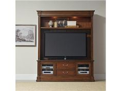 Shop for Hooker Furniture Clermont Two Piece Entertainment Group, 5271-70202, and other Home Entertainment Entertainment Centers The Clermont Two Piece Entertainment Group is crafted using Poplar Solids and Cherry Veneers.
