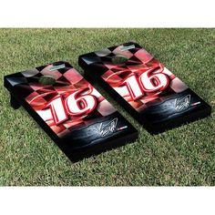 Greg Biffle Racing Flag Cornhole Game Set - $249.99