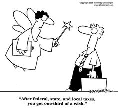After taxes you have 1/3 a wish.... LOL