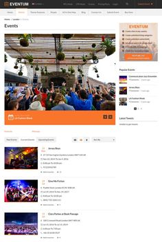 Displaying Events on Eventum WordPress Theme  - www.wpchats.com