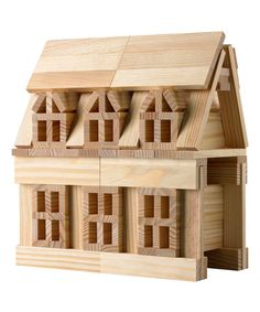 100-Piece Natural Building Block Set