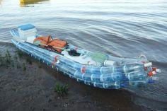 recycled bottle kayak
