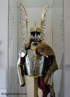 Winged armor of a Polish Hussar.