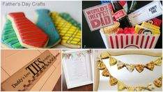 Lots of Father's Day craft ideas and gift ideas!
