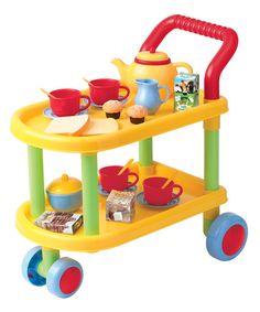 Tea Time Trolley Play Set
