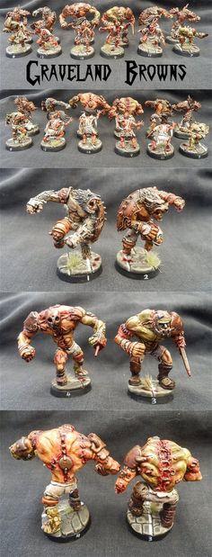 Blood Bowl Necromantic team