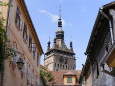 Sighisoara, Romania Travel Around The World, Around The Worlds, City Break, Dream Big, Romania, Medieval, Louvre, Places, Heaven