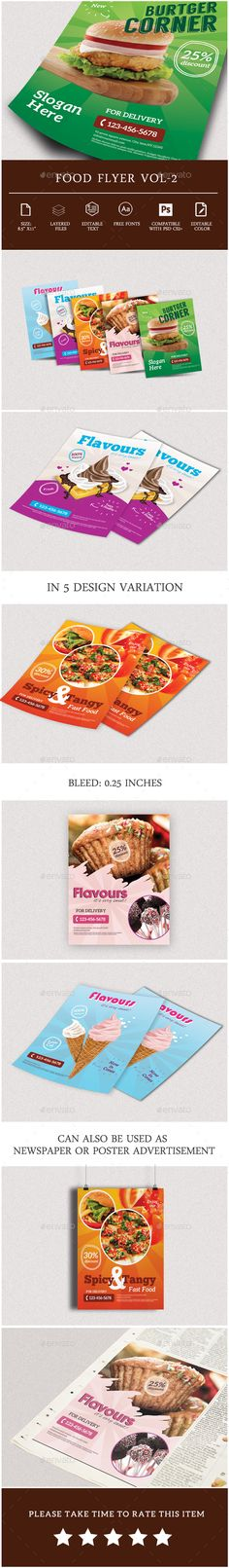 Pizza Restaurant Flyer Template Pizza restaurant and Flyer template - restaurant flyer