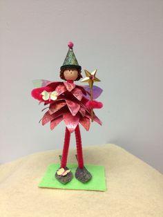 Fairy fairies flowers star magical paper flower art doll butterflies etsy pairofpetals