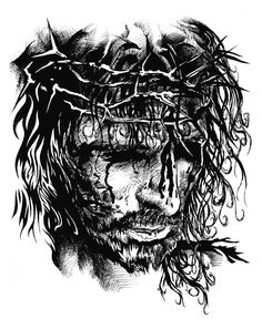 PROMOVILLAGE.COM: Pencil Sketch of Christ