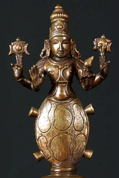 Hindu God Kurma, Vishnu Avatar - The Turtle -- Time and time again we see cultures referring to the turtle as holding up the universe. In Hinduism, it is believed that the tortoise paired with the head of Lord Vishnu is what stabilized the ever changing world and still to this day is what supports the world we inhabit.