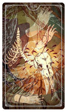 Death - Tarot Card Julia Iredale