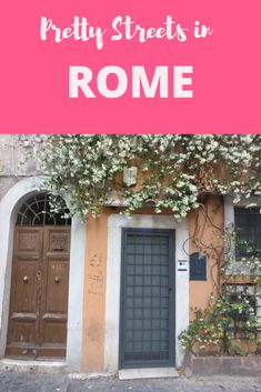 Rome is a photographer's (and an Instagrammers) dream!! Here are the prettiest parts and streets worth capturing in the eternal city.
