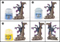 Tale of Painters: Tutorial: How to paint Space Hulk Genestealers