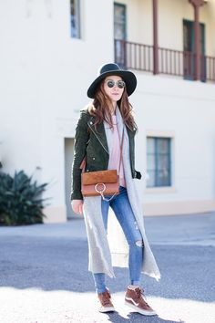 Stylewich by Elizabeth Lee, Fashion Blogger, Outfit Ideas, Style Inspiration, Fall Fashion, Blank NYC Suede Moto Jacket, Chloe Faye Bag