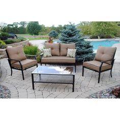 Mainstays Ragan Meadow II 7 Piece Outdoor Sectional Sofa, Seats 5   699,  Walmart And Sofas