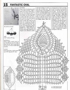 Home Decor Crochet Patterns Part 47 - Beautiful Crochet Patterns and Knitting Patterns Crochet Dollies, Crochet Lace Edging, Form Crochet, Tatting Patterns, Crochet Stitches Patterns, Crochet Chart, Crochet Home, Thread Crochet, Filet Crochet